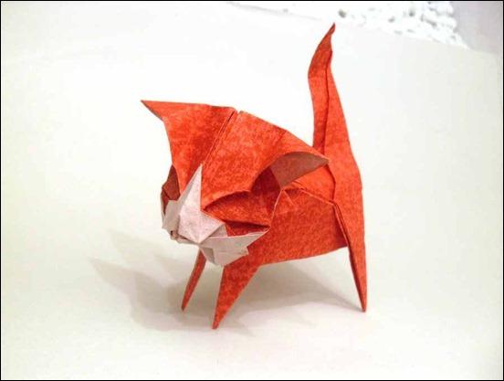 origami-kitten-