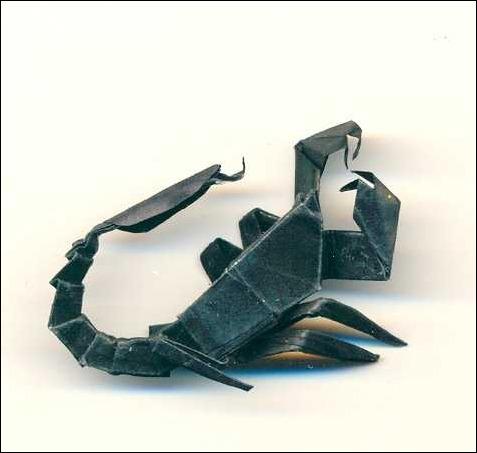origami-scorpion