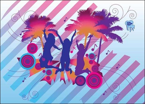 tropical-party-vector