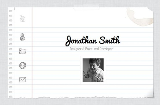 Notebook - Virtual Business Card