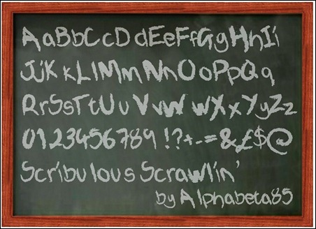 Scribulous-Scrawlin