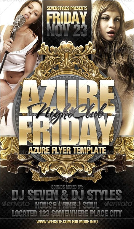 azure-flyer-template