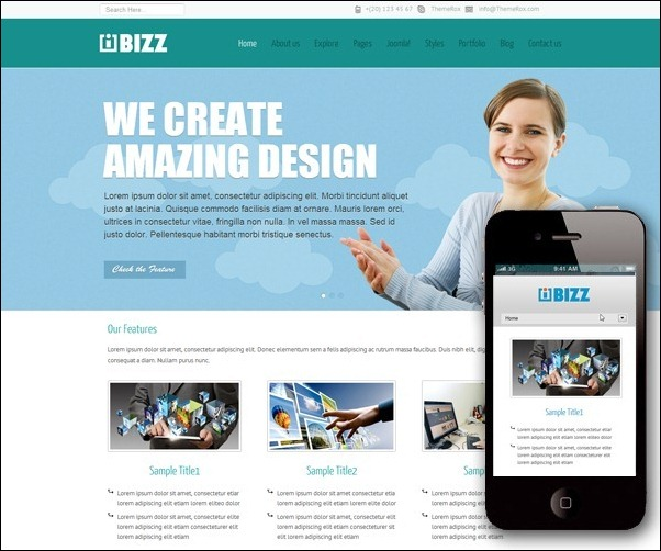 i-bizz-responsive-template