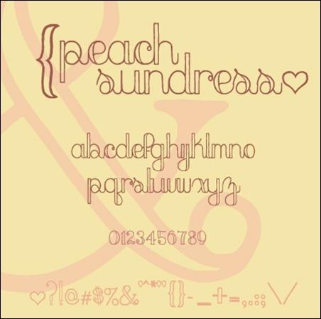 peach-sundress