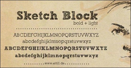 sketch-block-hand-drawn-font