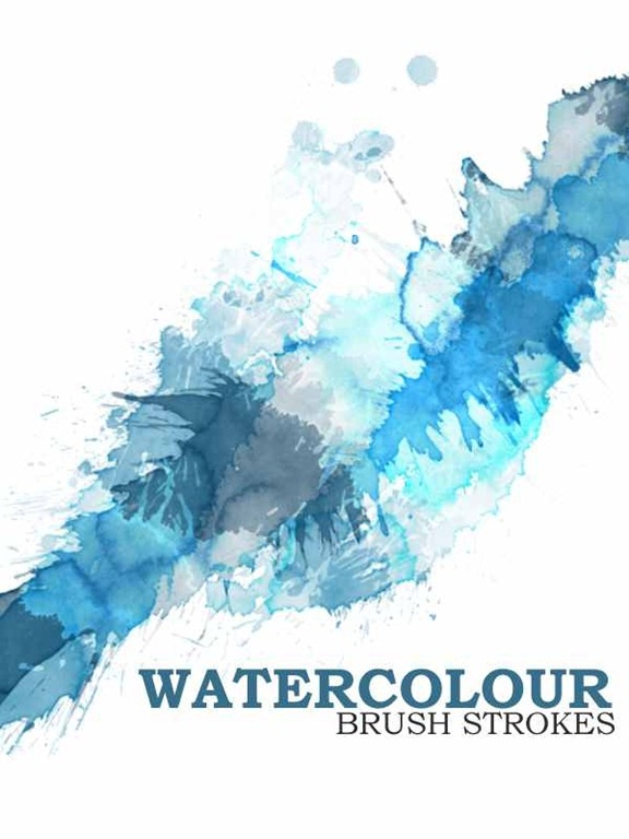 35 Wet Photoshop Watercolor Brush Sets | Tripwire Magazine