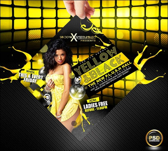 yellow-and-black-party-flyer-psd