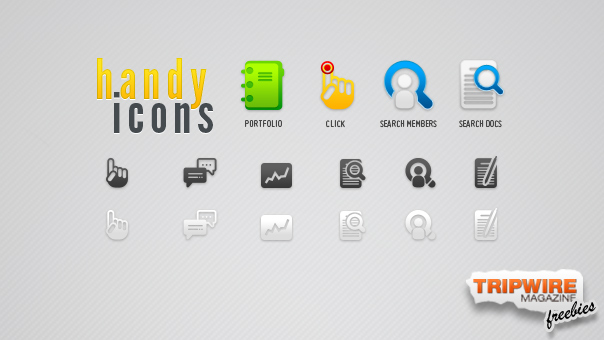Freebie Friday – A Handy Set of Icons for Web Developers