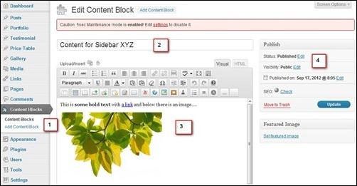 content-blocks