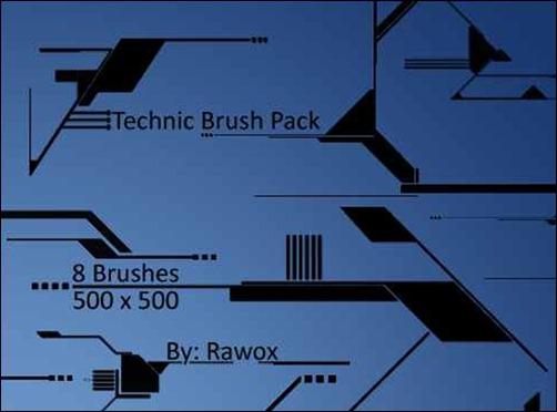 technic-brush-pack