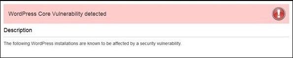 wordpress-core-vulnability