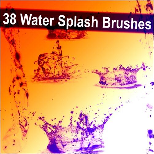 38-water-splash-brushes