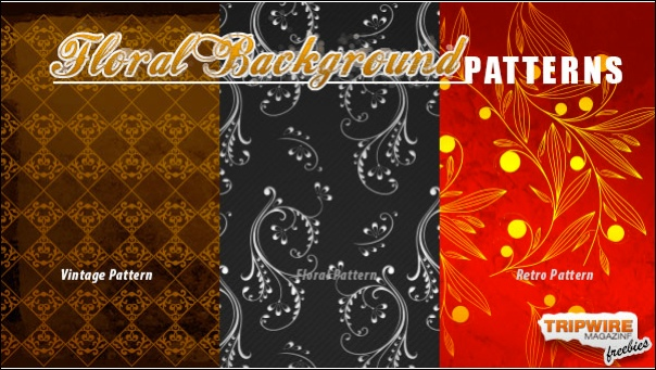 Freebie Friday – Floral Background Pattern