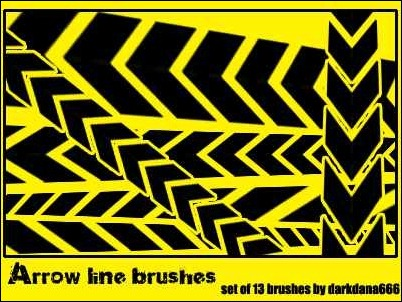 arrow-line-brushes