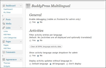 buddyPress-multilingual