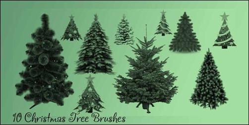 christmas-tree-brushes