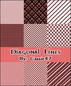 diagonal-line-pattern-brushes
