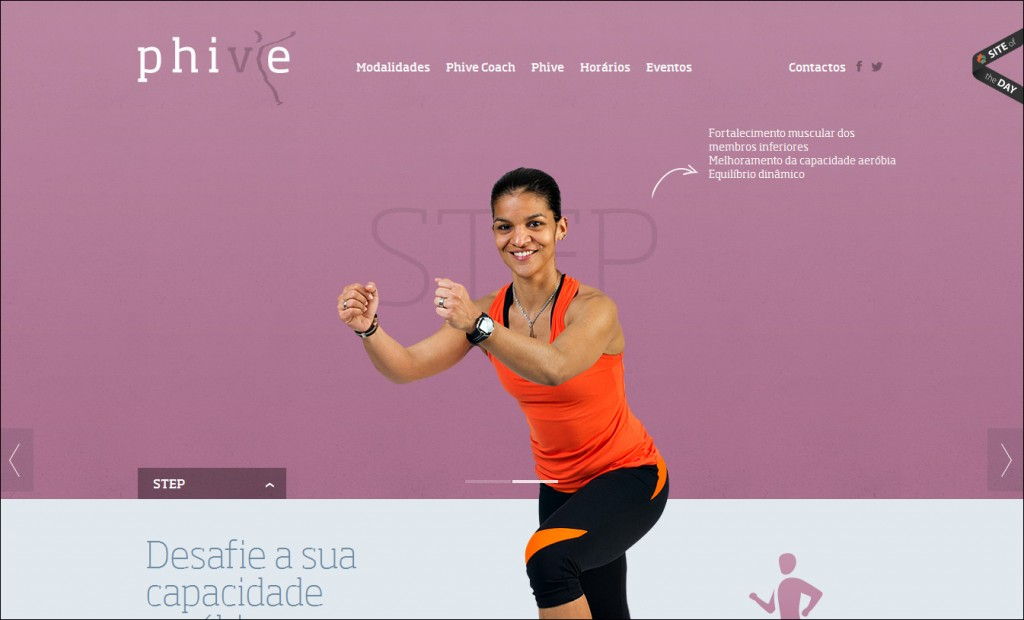 phive hmtl5 website