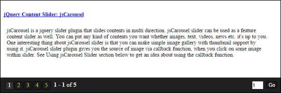 jQuery Pagination Plugin: Smart Paginator
