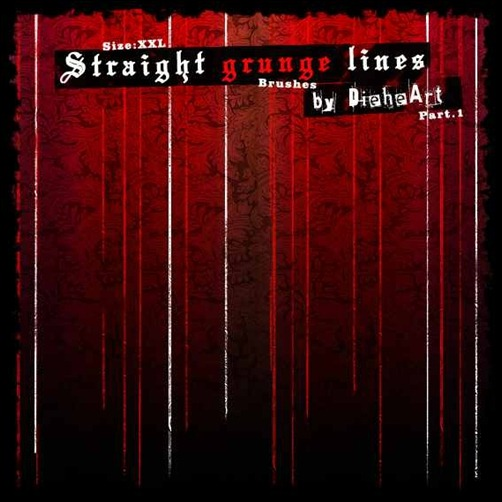 straight-grunge-lines-brushes