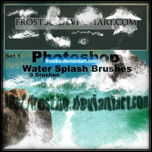 water-splash-brushes