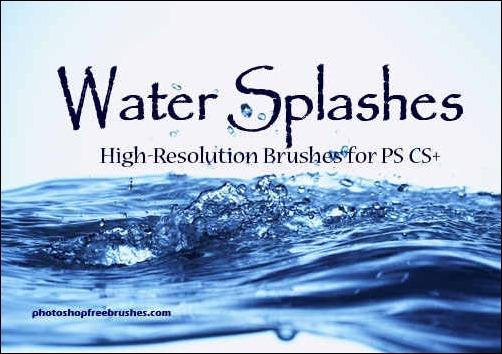 water-splashes-photoshop-brushes