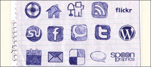 Handdrawn Icon Set