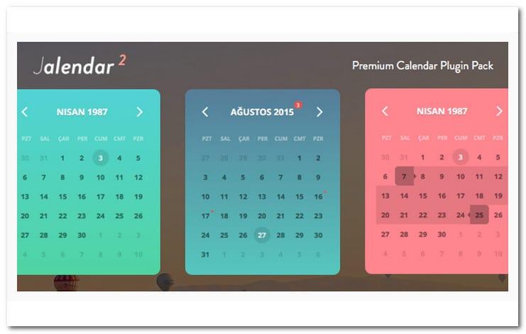 Jalendar 2 Calendar Pack