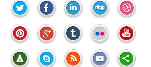 Nice and modern icons
