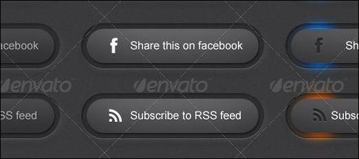 Social website button