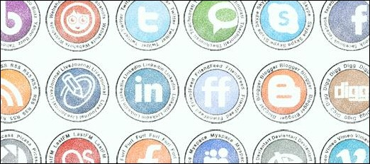 Stamp Social Icons