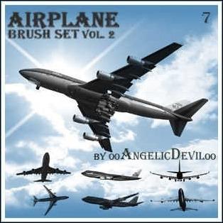 airplane-brush-set