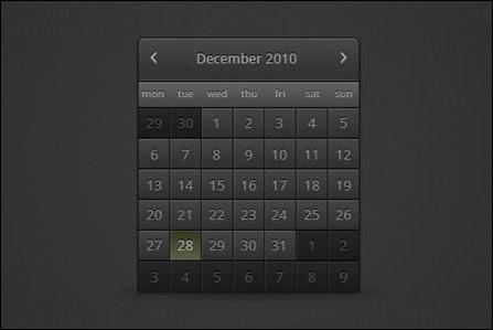 dark-calendar