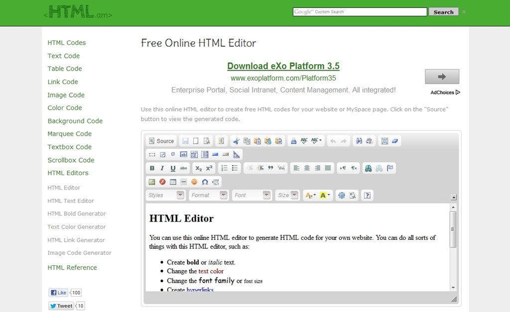 15 Useful Online HTML Editors for Web Developers | Tripwire