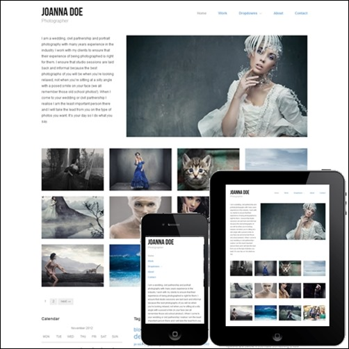 hatch is a cool photography theme for wordpress build with the hybrid core framework