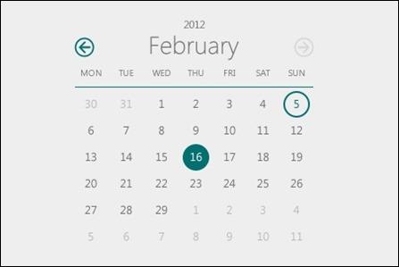 metro-style-calendar
