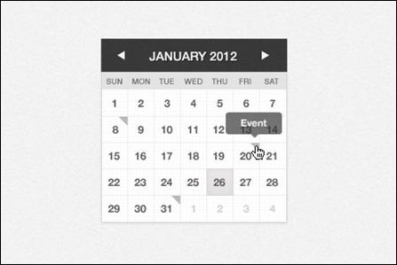 mini-calendar