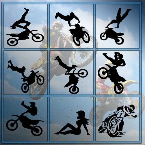 motocross-brush-set