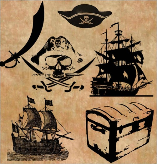 pirate-brush-set