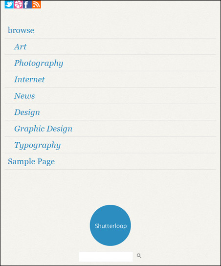 shutterloop responsive theme