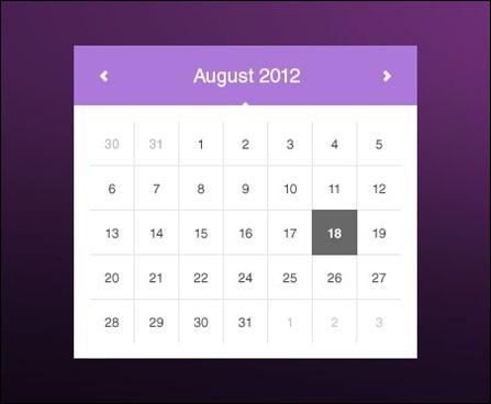 simple-calendar-ui