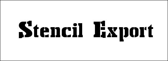 stencil-export