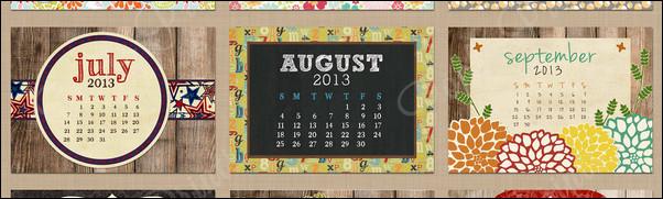 30+ Creative Calendar Designs 2013