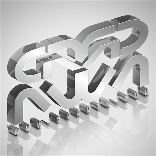 create-a-glassy-3d-typography-in-illustrator