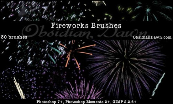 fireworks-celebration-brushes