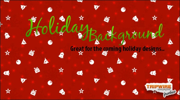 Freebie Friday – Holiday Background