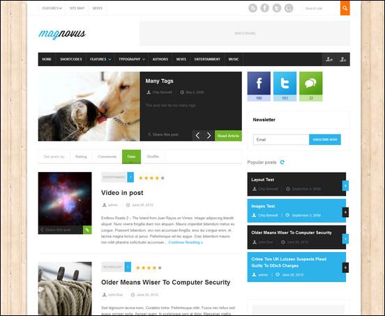 magnovus WordPress Haber ve Portal Temaları