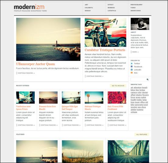 modernizm WordPress Haber ve Portal Temaları