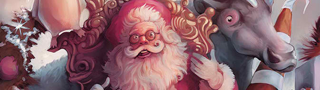 35 Amazing Santa Claus Illustrations for Inspiration