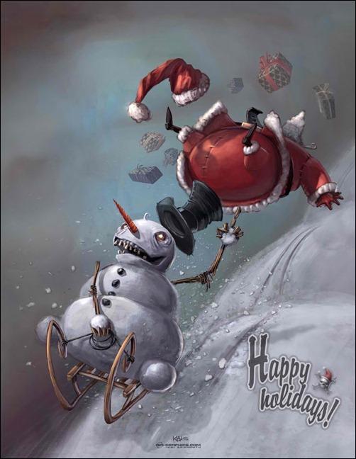 snowman-vs.-santa